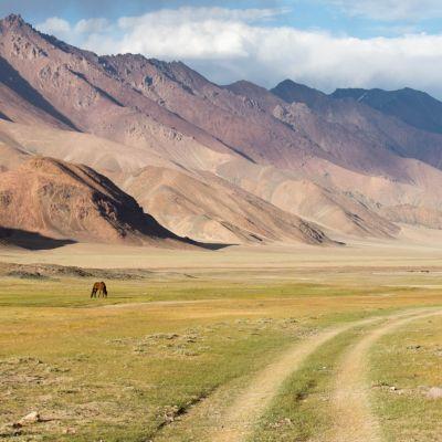 Voyage dans les monts Fansky